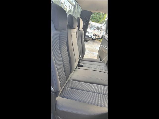 2016 Isuzu D-MAX SX MY15 Cab Chassis