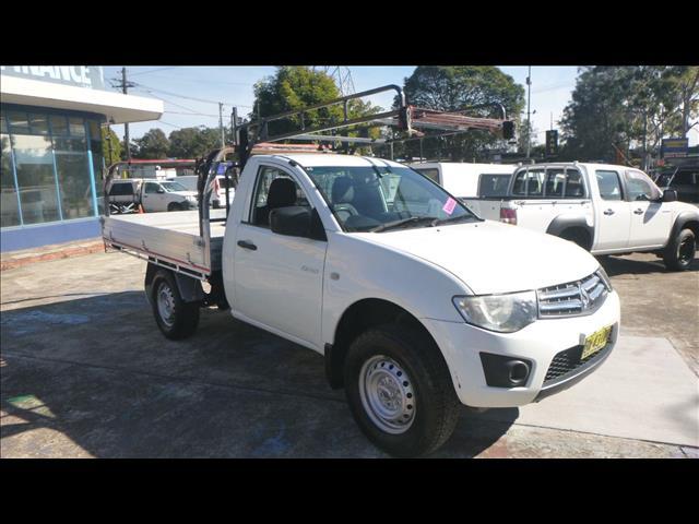 2013 Mitsubishi Triton GLX MN MY13 Cab Chassis