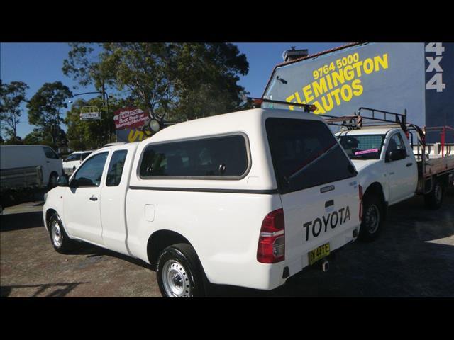 2013 Toyota Hilux SR GGN15R MY12 Utility