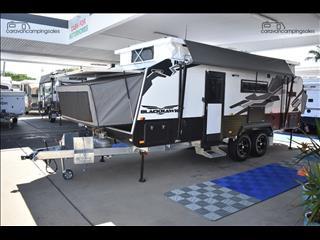 2018 Titan Caravans Blackhawk Expander 2100