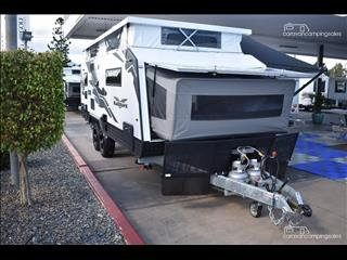 2018 Titan Caravans BLACKHAWK EXPANDER 2100 SHOWER/TOILET