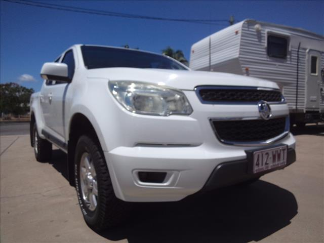 2012 HOLDEN COLORADO LT (4x4) RG CREW CAB P/UP