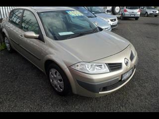 2008  RENAULT MEGANE EXPRESSION X84 MY06 UPGRADE 4D SEDAN
