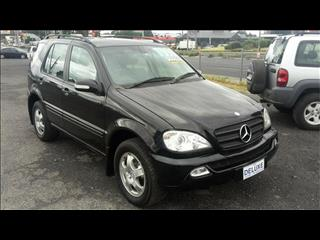 2002  MERCEDES-BENZ ML 270 CDI LUXURY (4x4) W163 4D WAGON