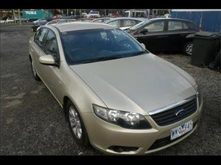 2008  FORD FALCON XT (LPG) FG 4D SEDAN