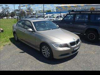 2008  BMW 3 20d EXECUTIVE E90 07 UPGRADE 4D SEDAN