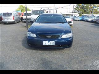2004  FORD FALCON CLASSIC BA 4D SEDAN