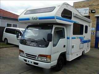 1996 Isuzu ELF 3.1 LT DIESEL Motorhome Campervan