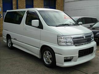 2000 Nissan Elgrand Highway Star E50 Wagon