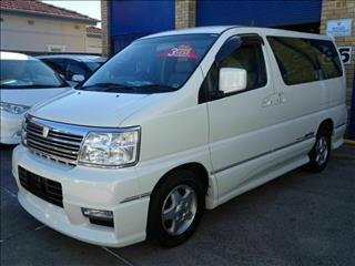 2001 Nissan Elgrand Highway Star E50 Wagon