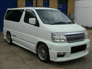 2000 Nissan Elgrand HWS E50 Wagon