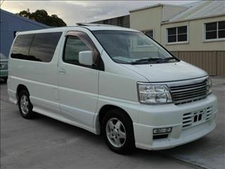 2001 Nissan Elgrand Highway Star  Wagon