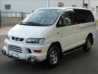 2001 Mitsubishi Delica Low Roof 8st Spacegear Wagon