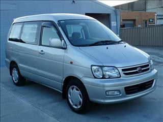 2001 Toyota Spacia Noah Townace Wagon