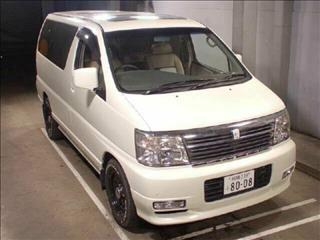 2001 Nissan Elgrand Limited Edition E50 Wagon