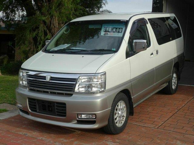 2001 Nissan Elgrand Memorial Edition E50 Wagon