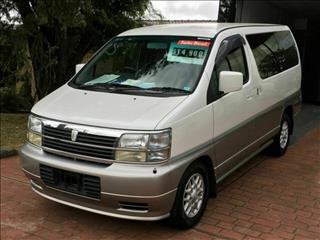 2000 Nissan Elgrand Diesel E50 Wagon