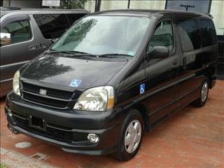 1999 Toyota Regius Rear hoist LIFECARE Wagon