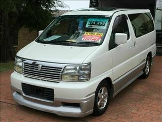 2000 Nissan Elgrand Diesel 4WD E50 Wagon