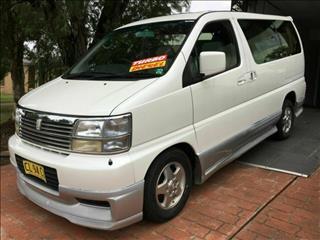 1999 Nissan Elgrand 3.0 LT DIESEL E50 Wagon