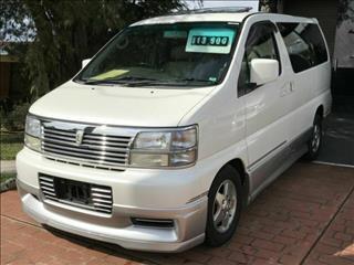 1999 Nissan Elgrand 3.0 lt Diesel ATE50 Wagon
