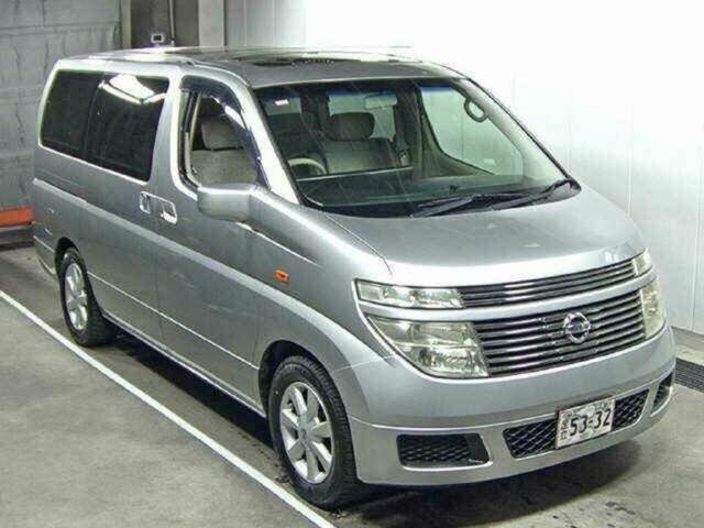 2004 Nissan Elgrand Dual Sunroof E51 Wagon