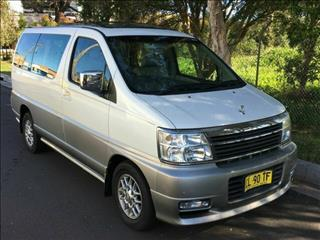 2000 Nissan Elgrand XL Luxury E50 Wagon