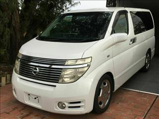 2004 Nissan Elgrand Highway Star E51 4WD Wagon