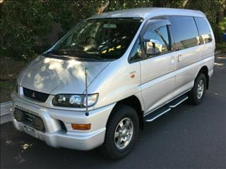 2002 Mitsubishi Delica High Roof Spacegear Wagon
