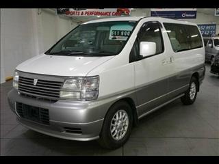 1999 Nissan Elgrand Turbo Diesel ATE50 Wagon