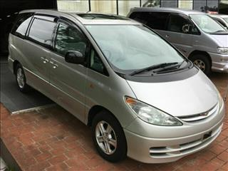 2002 Toyota Estima X Limited Dual Sunroof 8 seats Wagon
