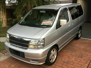 2000 Nissan Elgrand Turbo Diesel ATE50 Wagon