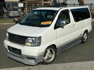 1999 Nissan Elgrand Highway Star ATE50 Wagon