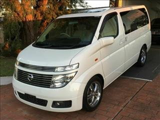 2002 Nissan Elgrand E51 X Sunroof  Wagon