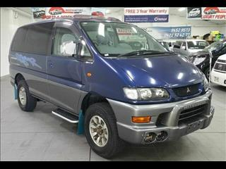 2002 Mitsubishi Delica SPACE GEAR Series 2 Wagon
