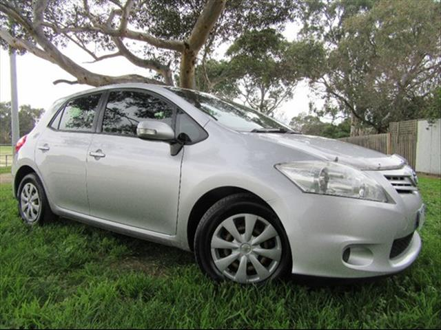 2010 TOYOTA COROLLA ASCENT ZRE152R HATCHBACK