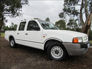 2000 FORD COURIER GL PE UTILITY
