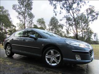 2008 PEUGEOT 407 ST HDi (No Series) SEDAN
