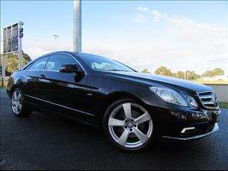 2010 MERCEDES-BENZ E250 CDI BLUEEFFICIENCY AVANTGARDE C207 COUPE