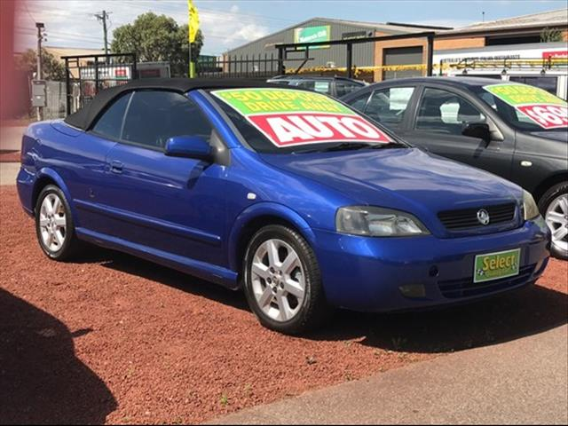 Used 2002 Holden Astra Ts Convertible For Sale In