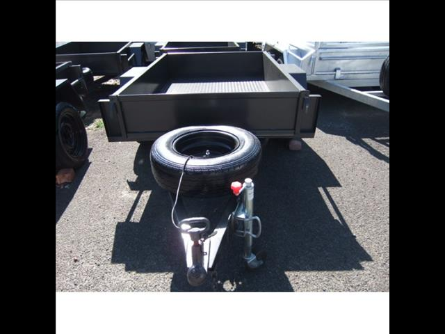 6X4 Heavy Duty Trailer w/ jockey wheel & spare
