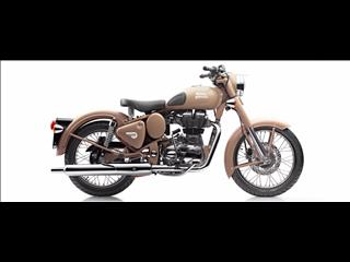 2017 ROYAL ENFIELD (SEE ALSO ENFIELD) CLASSIC DESERT STORM 500CC ROAD