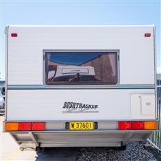 2001 18ft Bushtracker Ultimate Offroad Caravan