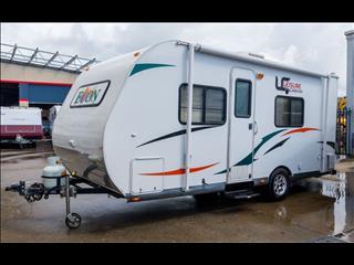 2013 Leisure Econ 18' caravan Tare: 1260kg  ATM: 1700kg Length: 18' Ball weight: 160kg