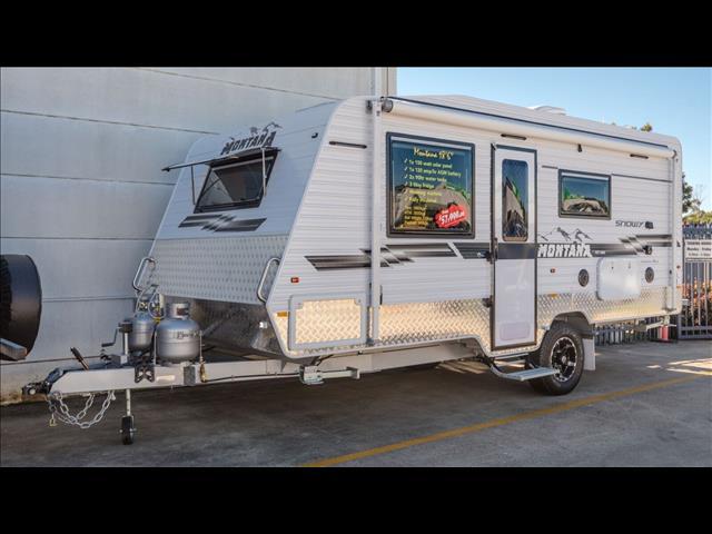 2018 Montana Snowy  18'6 Semi Off Road Full Van with Ensuite - taking orders
