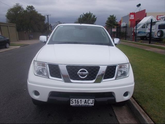 2008 NISSAN NAVARA ST-X D40 UTILITY