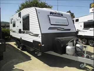 "2018 MONTANA EXCLUSIVE , 19'6"" Tandem Tourer, Queen Bed, Full Ensuite, Cafe Seating....."