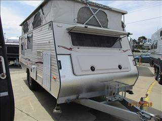 2006 COROMAL PIONEER CORVAIR Pop Top, Single Axle Off Road Go Anywhere Model....