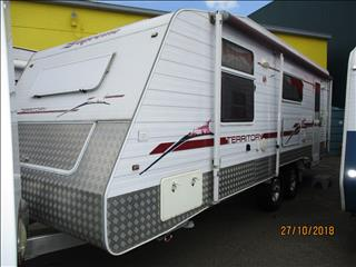 2008 SUPREME Territory 23' Off Roader, Queen Bed, Big Bathroom, Host of Features....