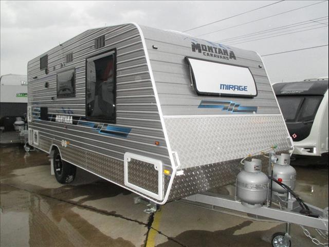 "Montana Mirage 18'6"" Single Axle Tourer, Queen Bed, Full Ensuite, Washing Machine, Semi Off Road...."